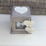 Shabby Chic PERSONALISED Photo Frame Box Nanny Nana Granny Grandma Nan ANY NAMES - 253968751537